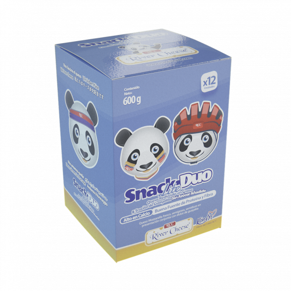 River Cheese Snack Duo Lite x12 unidades
