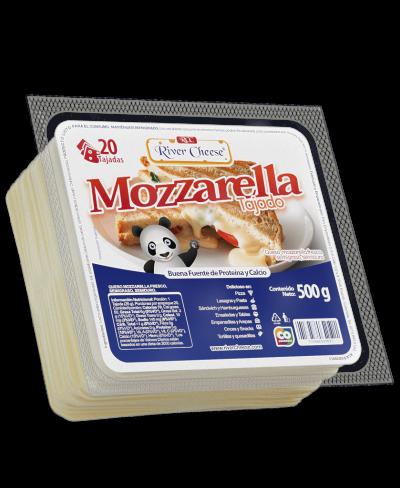 River Cheese Queso Mozzarella Tajado 500 g