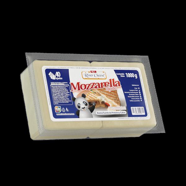 River Cheese Queso Mozzarella Tajado 1000 g